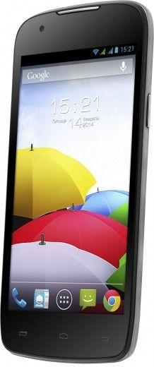 Мобильный телефон Fly IQ4405 Quad Evo Chic Silver
