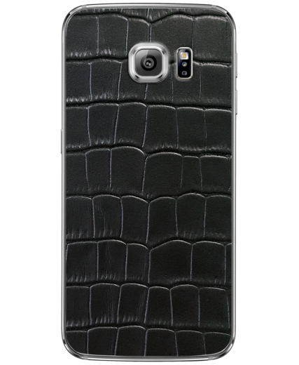 Кожаная наклейка Classic Croco  для Samsung Galaxy S6 edge + (G928)