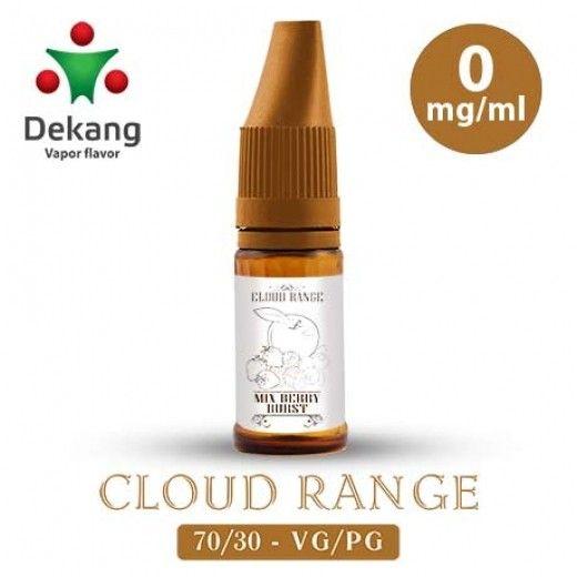 Жидкость для электронных сигарет Dekang Cloud Range «Berry Burst» 0 мг/мл
