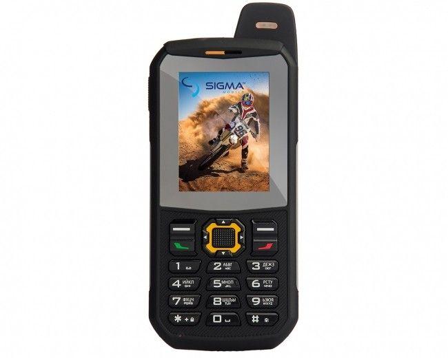 Мобильный телефон Sigma mobile X-treme 3SIM Black-Orange