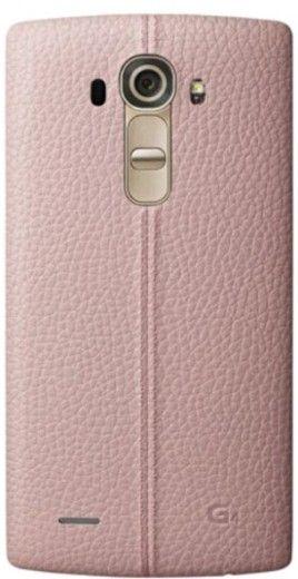 Накладка LG G4 Leather Battery Cover для LG G4 H818 (CPR-110.APRAPK) Pink