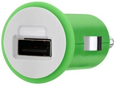 Автомобильное зарядное устройство Belkin Green F8J018TTGRIN