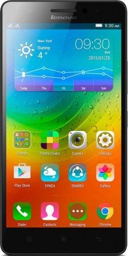 Мобильный телефон Lenovo A7000 Onyx Black