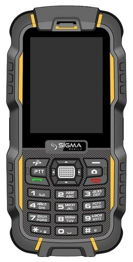 Мобильный телефон Sigma mobile X-treme DZ67 Travel Orange Black
