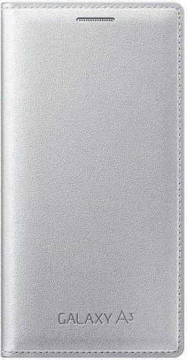 Чехол Samsung Flip Cover для Samsung Galaxy A3 Silver (EF-FA300BSEGRU)