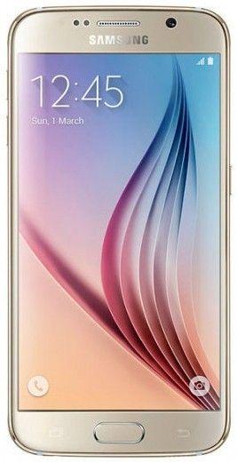 Мобильный телефон Samsung Galaxy S6 64Gb G920FD (SM-G920FZDVSEK) Gold