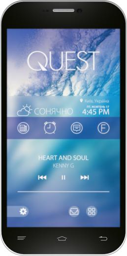Мобильный телефон Qumo Quest 452 Black