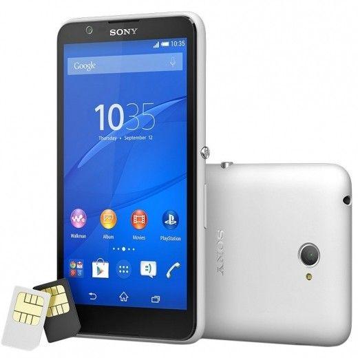 Смартфон Sony Xperia E4 Dual E2115 White