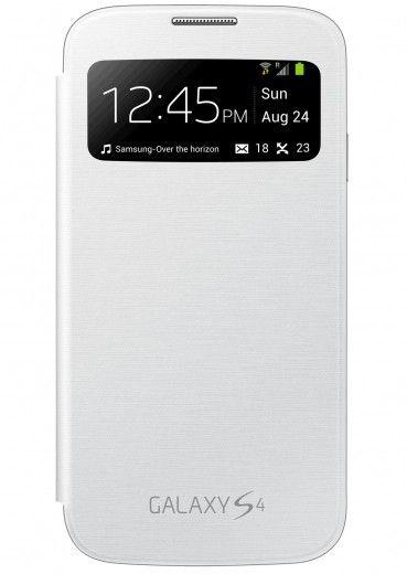 Смарт чехол для Samsung Galaxy S4 I9500 S-View White (EF-CI950BWEGWW)