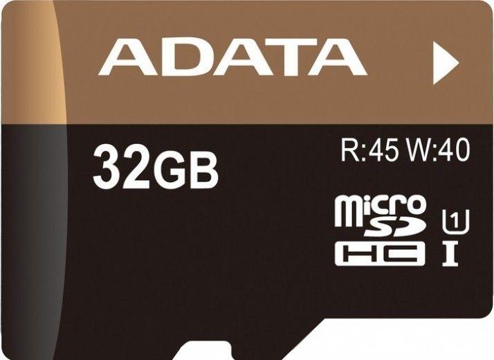 Карта памяти A-Data 32 GB microSDHC class 10
