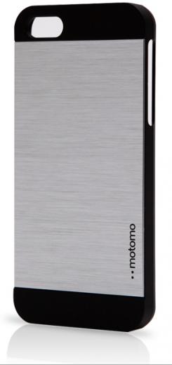 Бампер Motomo Metal Case iPhone 6 Silver