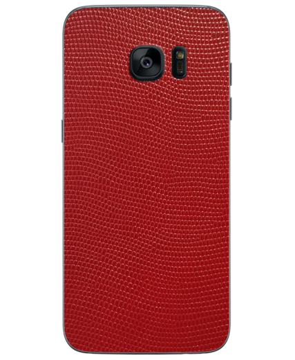 Кожаная наклейка Red Stingray для Samsung Galaxy S7 edge (G935)