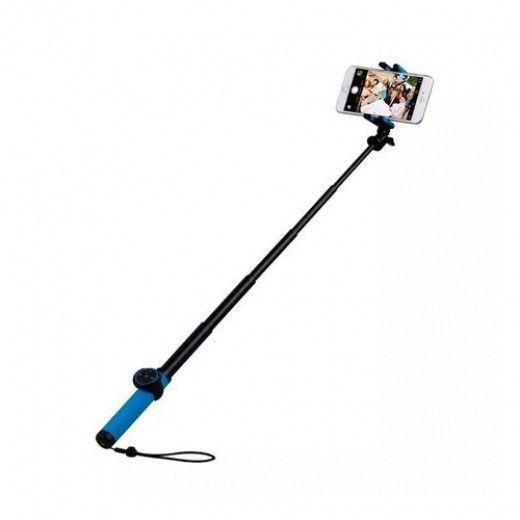 Монопод для селфи MOMAX Selfie Hero Bluetooth Selfie Pod 150cm Blue/Black (KMS8D)