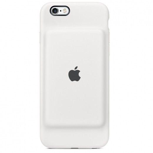 Чехол-аккумулятор Apple Smart Battery Case White (MGQM2) для iPhone 6s