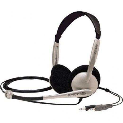 Навушники Koss CS100 Silver