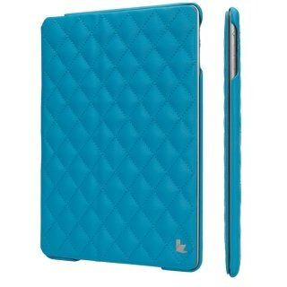 Чехол-книжка для iPad Jison Quilted Leather Smart Case (JS-ID5-02H40) Blue for iPad Air/Air 2