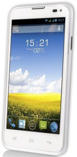 Мобильный телефон Fly IQ4415 Quad Era Style 3 White