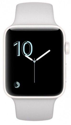 Смарт часы Apple Watch Series 2 38mm Ceramic Case Cloud Sport Band
