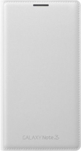 Чехол Samsung для Galaxy Note 3 Flip Wallet Jet (EF-WN900BWEGRU) White