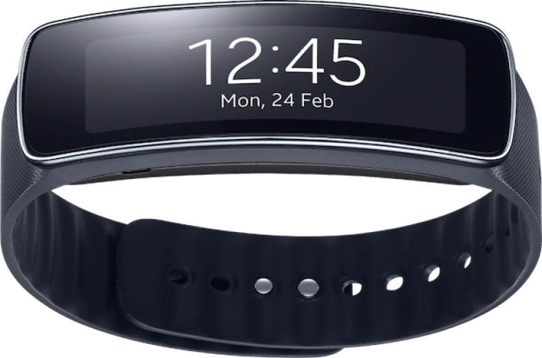 Фитнес-трекер Samsung Gear Fit SM-R3500 Black