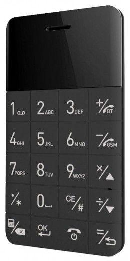 Мобильный телефон Elari CardPhone Black (LR-CP-BLCK)