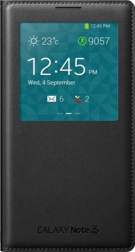 Чехол Samsung EF-CN900BBEGRU Black для Galaxy Note 3