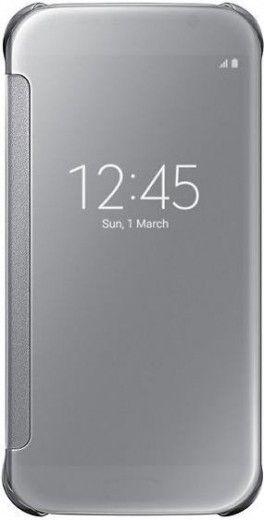 Чехол Samsung Zero для Samsung Galaxy S6 Silver (EF-ZG920BSEGRU)