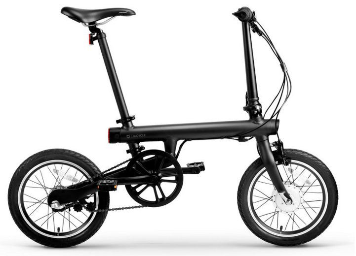 Электровелосипед Xiaomi Qicycle Bike (black)