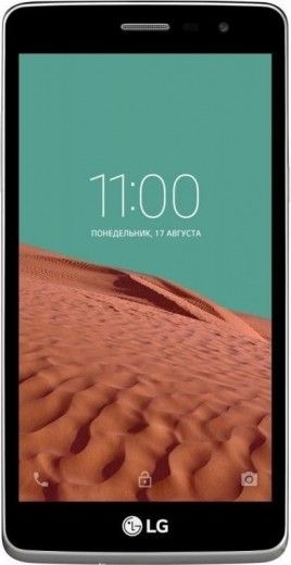 Мобильный телефон LG Max X155 White