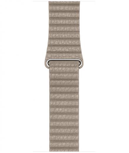 Ремешок Leather Loop для Apple Watch 42мм (MJ4X2/MJ4Y2) Stone