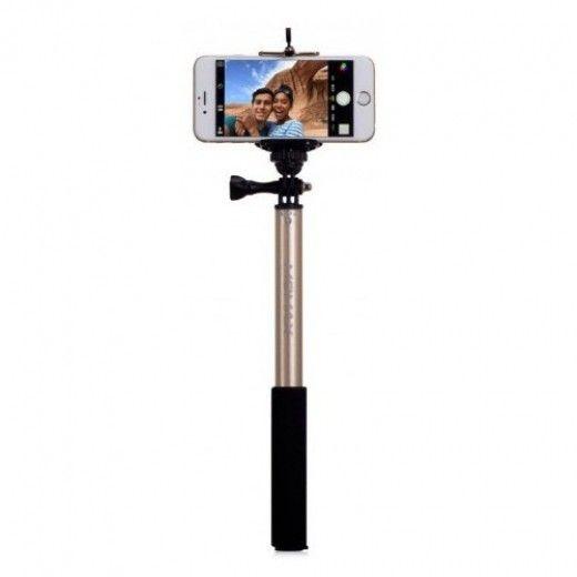 Монопод для селфи MOMAX Selfifit Bluetooth Selfie Pod 90cm Golden (KMS1NL)
