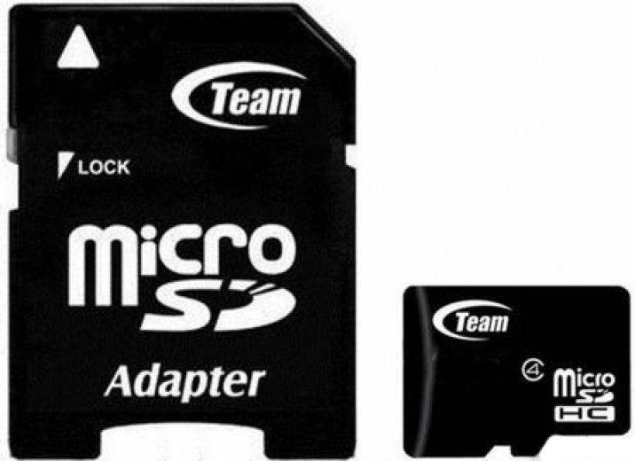 Карта памяти Team MicroSD 2 GB Class 4 + adapter