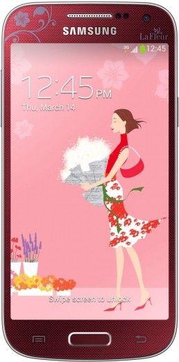 Смартфон Samsung I9190 Galaxy S4 Mini Red La Fleur