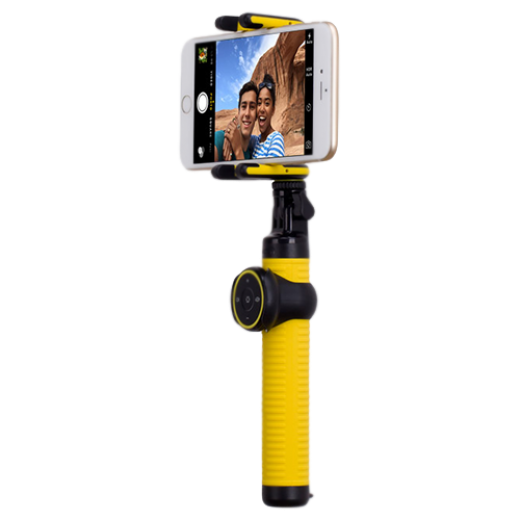 Монопод для селфи MOMAX Selfie Hero Bluetooth Selfie Pod 100cm Yellow/Gold (KMS7L)