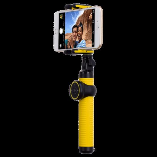 Монопод для селфи MOMAX Selfie Hero Bluetooth Selfie Pod 100cm Yellow/Gold (KMS7L)
