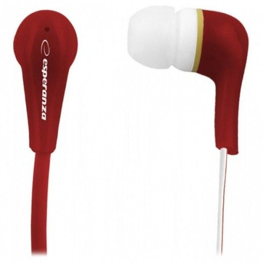 Навушники Esperanza In-Ear EH146R Red