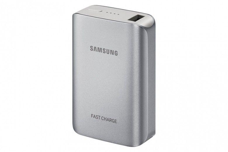 Портативная батарея Samsung Fast Charging EB-PG930BSRGRU 5100 mAh Silver