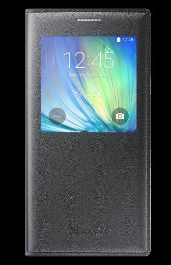 Чехол Samsung S Cover View для Samsung Galaxy A7 Charcoal (EF-CA700BCEGRU)