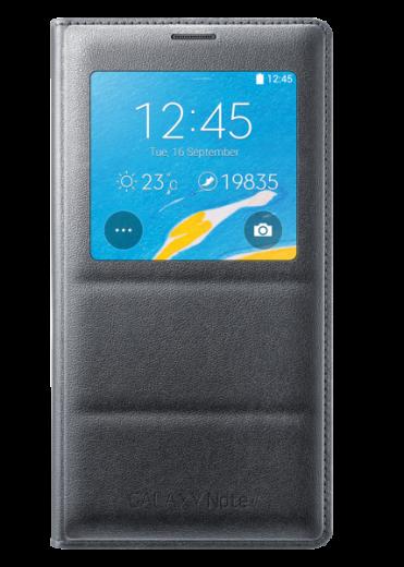 Чехол Samsung S View для Samsung Galaxy Note 4 N910H Black (EF-CN910FKEGRU)