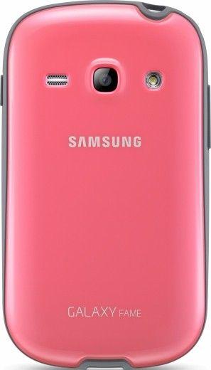 Накладка для Samsung для Galaxy Fame S6810 Pink (EF-PS681BPEGWW)