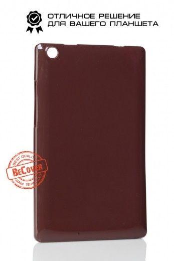 Силиконовый чехол BeCover для Lenovo Tab 2 A8-50 Brown