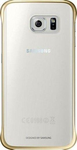 Накладка Samsung Zero Edge для Samsung Galaxy S6 Edge Gold (EF-QG925BFEGRU)