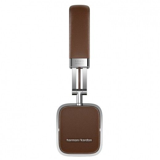 Навушники Harman Kardon Soho Wireless Brown (HKSOHOBTBRN)