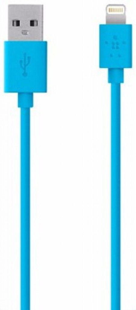 Кабель синхронизации BELKIN iPhone 5 Blue (BK023)
