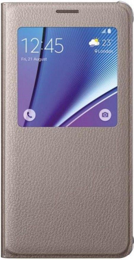Чехол Samsung Note 5 N920 EF-CN920PFEGRU Gold