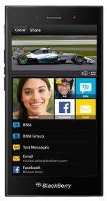 Смартфон BlackBerry Z3 Black