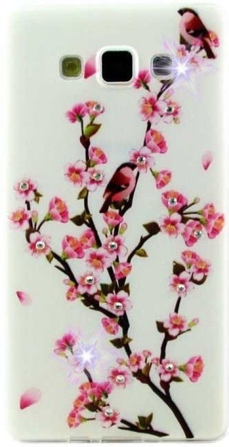 Чехол Diamond Silicone Lenovo A5000 Sakura Blossom