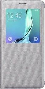 Чехол Samsung S View Cover для Samsung Galaxy S6 edge+ Silver (EF-CG928PSEGRU)