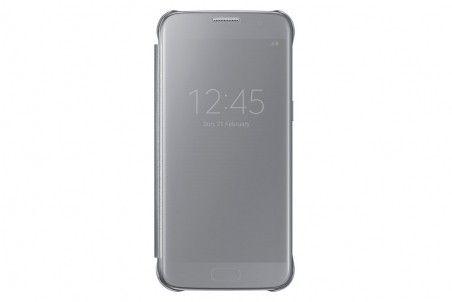 Чехол Samsung Clear Cover для Galaxy S7 Silver (EF-ZG930CSEGRU)