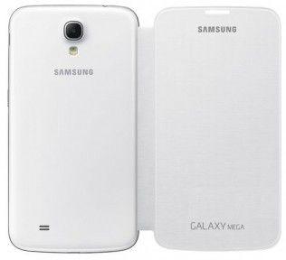 Чехол-книга Samsung для Galaxy Mega 6.3 I9200 White (EF-FI920BWEGWW)